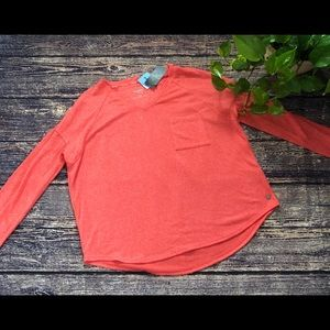 🌀Calvin Klein | NWT Orange Long Sleeve Tee